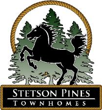 Stetson Pines Townhomes logo / American Hometown Realty Carrollton West Ga Real Estate.